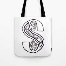 S is for Tote Bag