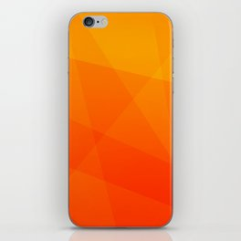 Orange Sunset iPhone Skin