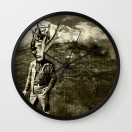 Tale of a TREE MAN  Wall Clock