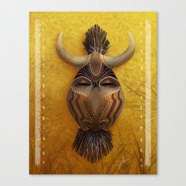 Spirit of the Wildebeest Canvas Print