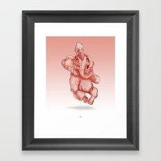 Elephantrance  Framed Art Print