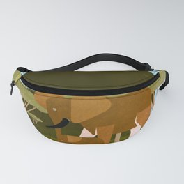 Save the wildlife 9 Fanny Pack
