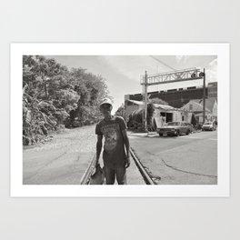 On The Tracks - New Orleans, Louisiana Art Print