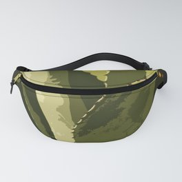 Agave Abstract Fanny Pack