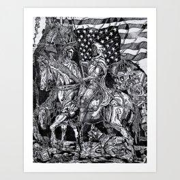 Doom, Death and Liberty Art Print