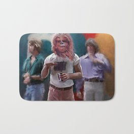 Chewbacca Wookie Dazed And Confused Mash-Up Bath Mat