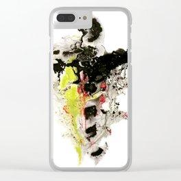 Liquid Dancer Clear iPhone Case