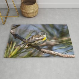 Yellow Rumped Warbler in May Rug