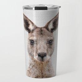 Kangaroo 2 - Colorful Travel Mug