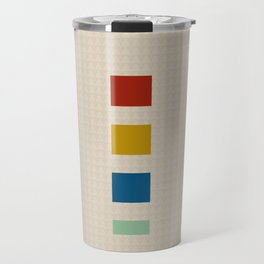 four elements || tweed & primary colors Travel Mug