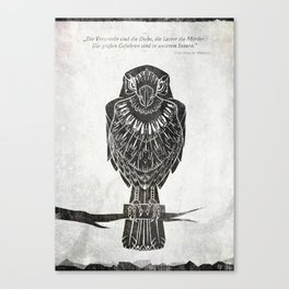 Listen To The Owl Canvas Print