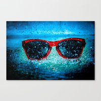 tyler oakley Canvas Prints featuring Oakley by stawickiphoto
