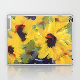 Sage and Sunflowers Laptop & iPad Skin