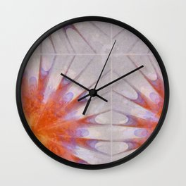 Extemporise Reality Flowers  ID:16165-061204-96700 Wall Clock