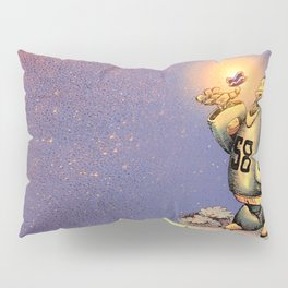 The Robot and the Butterfly Pillow Sham