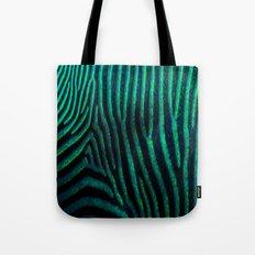 Zebra Path Tote Bag