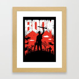 This... is my BOOMSTICK! Framed Art Print