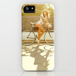 Velo girl iPhone Case
