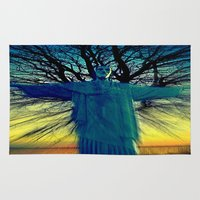 jesus Area & Throw Rugs featuring jesus by  Agostino Lo Coco