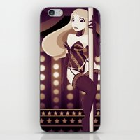 burlesque iPhone & iPod Skins featuring Burlesque by ihasb33r
