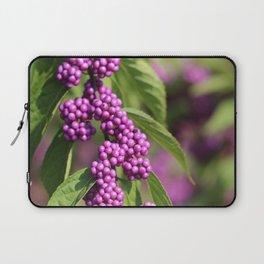 Purple Polka Dot Candy Laptop Sleeve