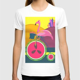 Flamingos Day Out T-shirt
