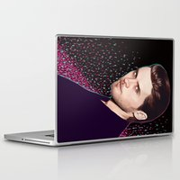jared leto Laptop & iPad Skins featuring Jared by Fernanda Maya