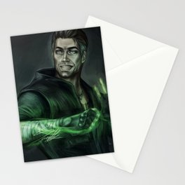 Johnny Cage Stationery Cards