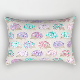Hedgehog polkadot Rectangular Pillow