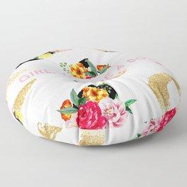 Girl, You Are A Boss Floor Pillow