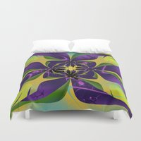 60s Duvet Covers featuring 60s Reunion by Jim Pavelle