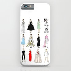 Outfits of Audrey Hepburn Fashion (White) iPhone 6 Slim Case