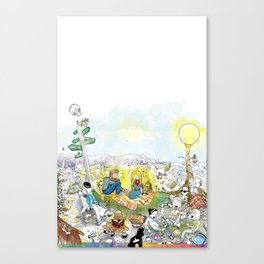 you're COLOR - Page 4 Canvas Print