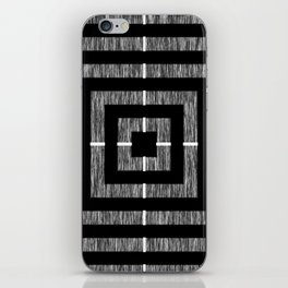 Static Square iPhone Skin