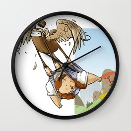Dorothy, Monkeys and Picnic Baskets Wall Clock