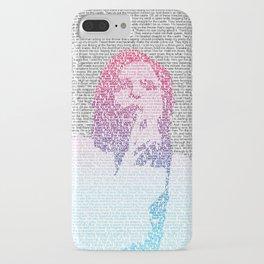 Badlands Lyrics (Gradient) iPhone Case