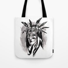 Hipster Shaman Tote Bag