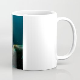 """Under Water: Close Up of the """"Little guys"""" Coffee Mug"""
