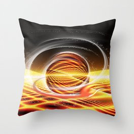 Sonnensymphonie Throw Pillow