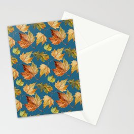 Petrol and leaves Stationery Cards