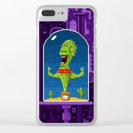 Cactus Creature Clear iPhone Case