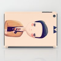 dale cooper iPad Cases featuring Dale by Nan Lawson