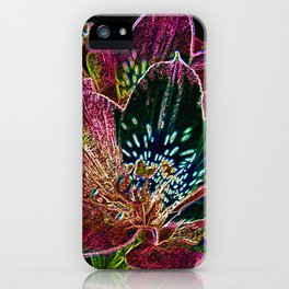 Tiger Lillies iPhone Case