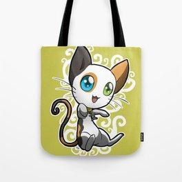 Zodiac Cats - Gemini Tote Bag