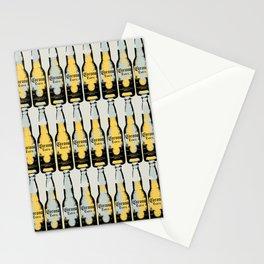 Pop art, original graphic Corona beer art illustration Stationery Cards