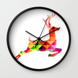 Dear deer Wall Clock