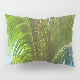 437 - Abstract Palm Tree Design Pillow Sham