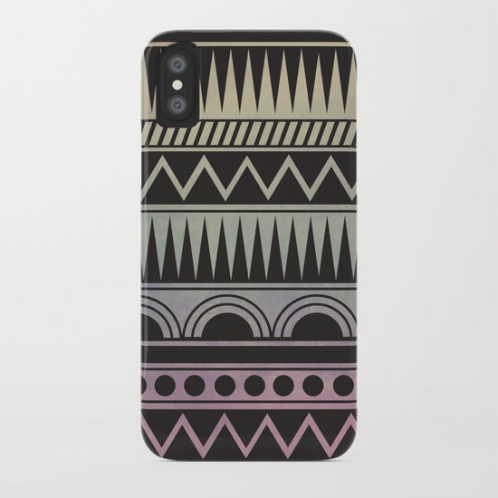 AZTEC PATTERN iPhone Case