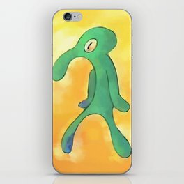 High Res Bold and Brash Repaint iPhone Skin