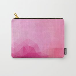 """Raspberry fresh"" triangles design Carry-All Pouch"